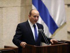 Israel's designated new prime minister Naftali Bennett (Ariel Schalit/AP)