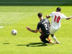 England's Raheem Sterling scored the winner against Croatia (Martin Rickett/PA)