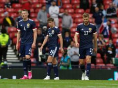 Former Scotland striker Charlie Nichols feels the players will have no fear coming up against England at Wembley (Andrew Milligan/PA)