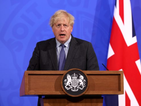 Prime Minister Boris Johnson (Jonathan Buckmaster/Daily Express/PA)