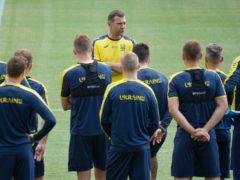 Andriy Shevchenko's Ukraine lost a dramatic opening group game against Holland (Vadim Ghirda/AP)
