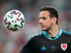 Goalkeeper Danny Ward has been in superb form for Wales at Euro 2020 (Darko Vojinovic/AP)