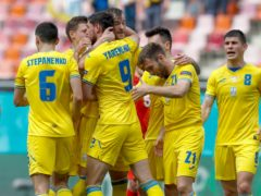 Ukraine beat North Macedonia (Robert Ghement/AP)