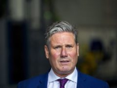 Sir Keir Starmer said Labour can make a difference in the future (Steve Parsons/PA)