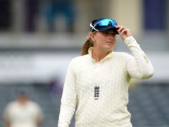 Sophie Ecclestone is glad to be playing again (Zac Goodwin/PA)