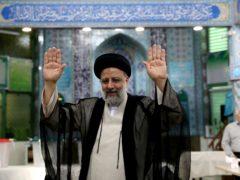 Ebrahim Raisi is set to become Iran's new president (Ebrahim Noroozi/AP)