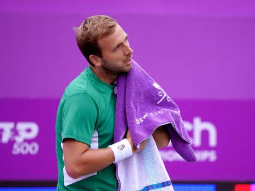Dan Evans lost to Matteo Berrettini at Queen's (John Walton/PA)