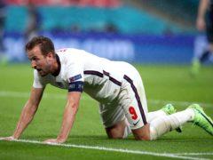 England's Harry Kane is yet to score at Euro 2020 (Nick Potts/PA).