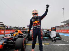 Max Verstappen won the French Grand Prix (Nicolas Tucat/PA)