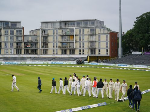 India Women's lower order scuppered England's chances of a first Test victory on home soil since 2005 (Zac Goodwin/PA)