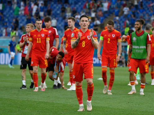 Wales have reached the knockout phase of Euro 2020 (Riccardo Antimiani,/AP)
