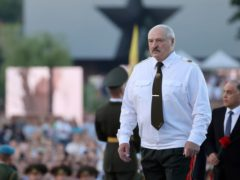 The EU has placed sanctions on Belarus which is ruled by Alexander Lukashenko (Maxim Guchek/BelTA Pool Photo via AP)