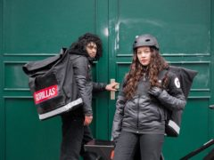 Gorillas is one of a raft of fast-growing grocery delivery firms in the UK (Gorillas/PA)