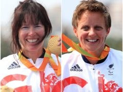 Reigning champions Jeanette Chippington, left, and Emma Wiggs, right, are among eight ParalympicsGB canoeists heading to Tokyo (PA)