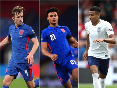 James Ward-Prowse, Ollie Watkins and Jesse Lingard have missed out on England's 26-man European Championship squad (PA)