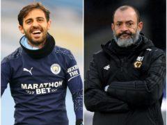 Bernardo Silva and Nuno Espirito Santo feature in today's football rumour mill (Alex Livesey/Facundo Arrizabalaga/PA)