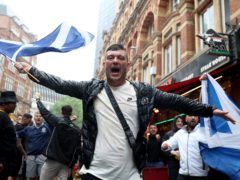 Nicola Sturgeon called on Scotland fans in London for the Euro 2020 clash against England to be 'careful' amid the ongoing Covid pandemic. (Kieran Cleeves/PA)