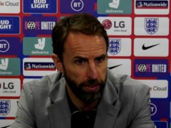 England manager Gareth Southgate during his press conference (Football Association)