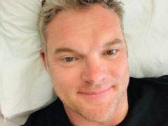 Mathew O'Toole while in hospital. (Mathew O'Toole)