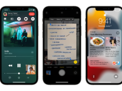 Apple's iOS 15 software (Apple/PA)