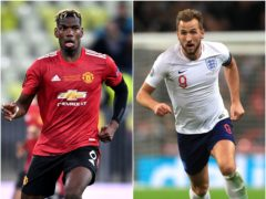 Paul Pogba and Karry Kane feature in today's football gossip (Rafal Oleksiewicz/Mike Egerton/PA)