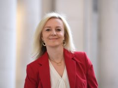 Trade Secretary Liz Truss insisted the UK Government's deal with Australia means 'huge opportunities' for Scotland (Leon Neal/PA)
