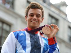 Tom Daley claimed a bronze medal at the London Olympics (Anna Gowthorpe/PA)