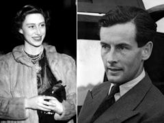 Princess Margaret and Group Captain Peter Townsend (PA)