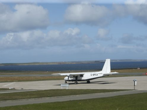 Kirkwall airport will be among those affected by strike action (Danny Lawson/PA)