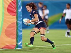 Abbie Brown scored a try for Team GB (David Davies/PA)