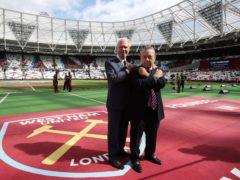 David Gold and David Sullivan do not want to sell West Ham (Nick Potts/PA)