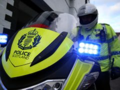 Police Scotland named the victim of a road crash (PA)