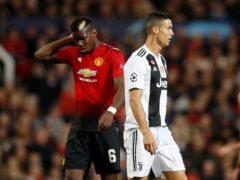 Paul Pogba and Cristiano Ronaldo are wanted by PSG (Martin Rickett/PA)