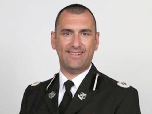 Cleveland Police chief Richard Lewis who is taking over at Dyfed-Powys Police (Cleveland Police/PA)