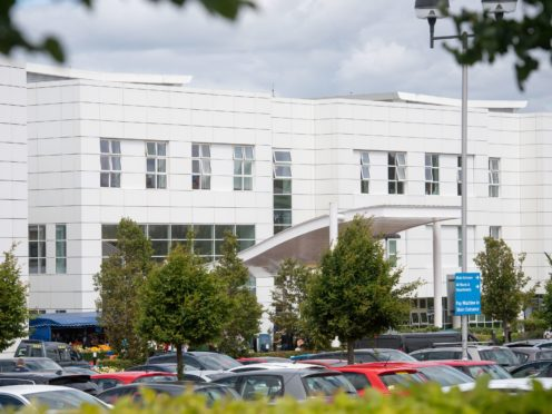 Russells Hall Hospital in Dudley, West Midlands (Jacob King/PA)