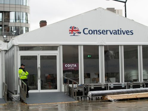 A previous Conservative Party conference (PA)