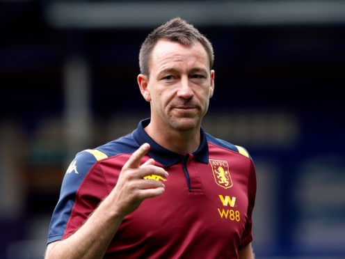 John Terry is leaving Aston Villa after captaining and then coaching at the club (Clive Brunskill/NMC Pool/PA)