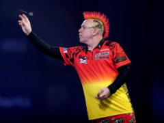 Peter Wright has won the World Matchplay for the first time (John Walton/PA)