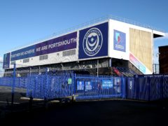 General view from outside the stadium ahead of the Sky Bet League One match at Fratton Park, Portsmouth. Picture date: Saturday January 23, 2021.