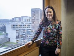 Finance Secretary Kate Forbes welcomed the increase in Scottish GDP (Jane Barlow/PA)