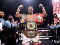 Anthony Joshua's unification fight against Tyson Fury was cancelled in May (Nick Potts/PA)