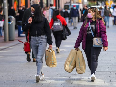 Retail sales continued to grow in July (Damien Storan/PA)