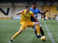 Livingston's Jack Fitzwater goes up against Rangers again (Jane Barlow/PA)
