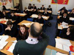 Around 1,126,000 pupils missed class on July 16 (David Davies/PA)