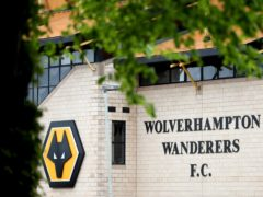 A general view of the stadium ahead of the Premier League match at the Molineux Stadium, Wolverhampton (Bradley Collyer/PA)