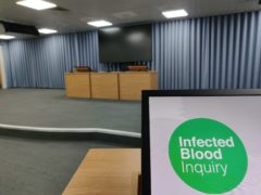 (Infected Blood Inquiry/PA)
