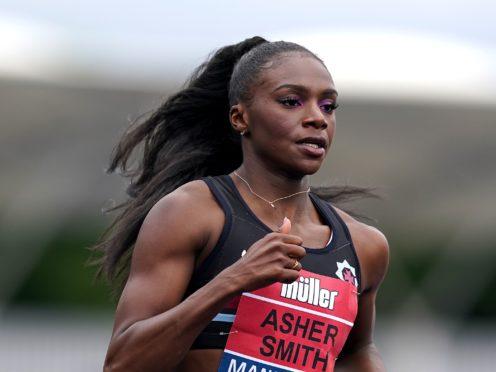 Dina Asher-Smith has welcomed the IOC's U-turn (Martin Rickett/PA)