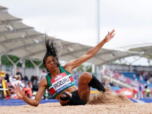 Abigail Irozuru is preparing for her first Olympics (Martin Rickett/PA)