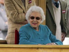 The Queen appeared to be in good spirits (Steve Parsons/PA)