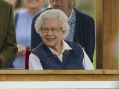 The Queen at the Royal Windsor Horse Show (Steve Parsons/PA)